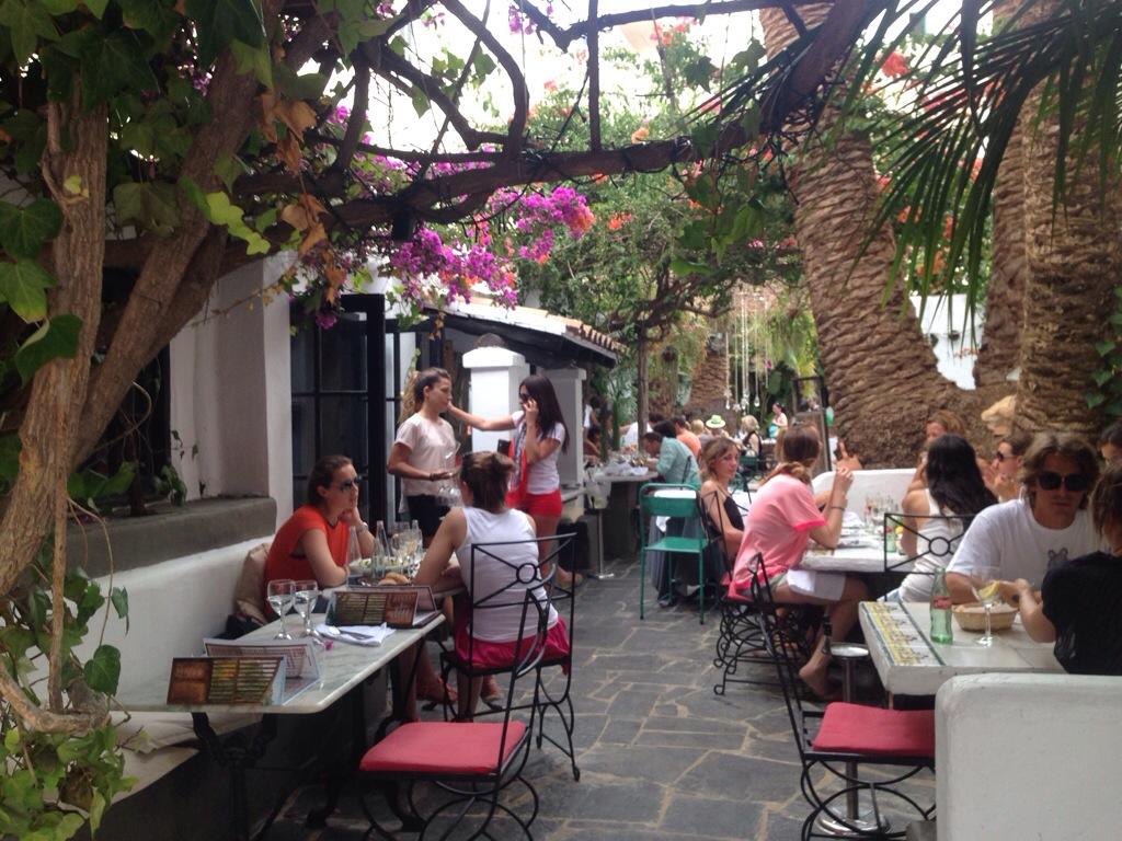 Restrante La Brasa Beautiful Garden Spanish Restaurant